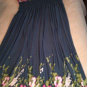 NWOT Jon &Anna Spring Maxi Dress, 3X